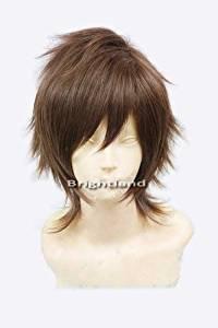 Playcosland Cosplay Blast Of Tempest Takigawa Yoshino Short Brown Cosplay Wig [Misc.]