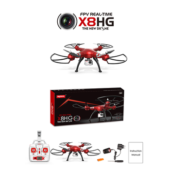 Syma X8HG New Arriving HD Camera 2.4G 4ch 6Axis Gryo RC Drone