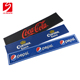 Bar accessories eco-friendly personalized corona red bull soft rail bar runner custom spill rubber PVC bar mat with free samples