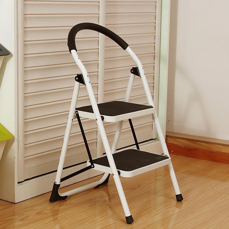 2 step ladder aluminium hd2 mobile bathla safety handrail
