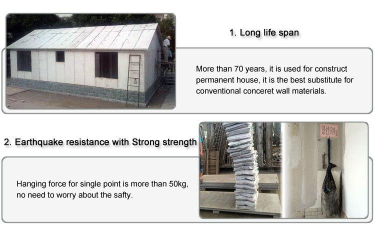 delightful foam building blocks for homes #7: OBON fiber cement eps sandwich panel foam building blocks for houses