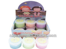 Bouncing putty/Jumping clay