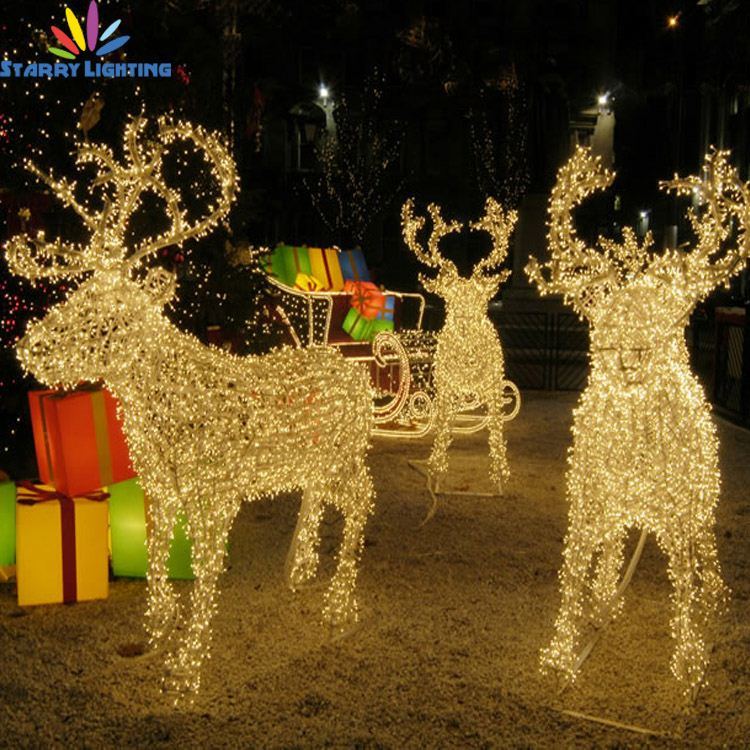 christmas moving reindeer christmas moving reindeer suppliers and manufacturers at alibabacom - Deer Christmas Lights