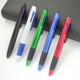 Promotional Red Blue Black Plastic Multicolor Pen with Phone Stylus