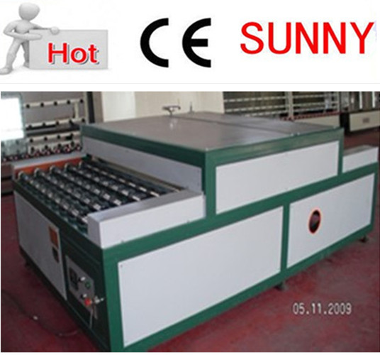 heated roller press machine / insulating glass machine