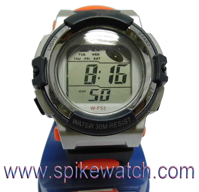 Solar powered watch manufacturer LED Solar Power Watch