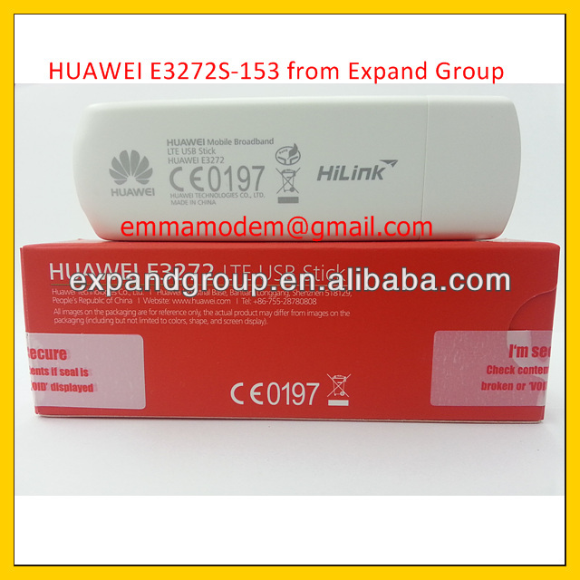 Huawei E3272s-153 4g Lte 150mbps Usb Dongle Stick Datacard ...