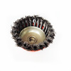 twist knot steel wire cup brush/round steel wire brush