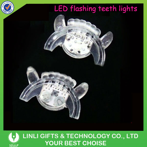 Supply LED Flashing Party Light Teeth