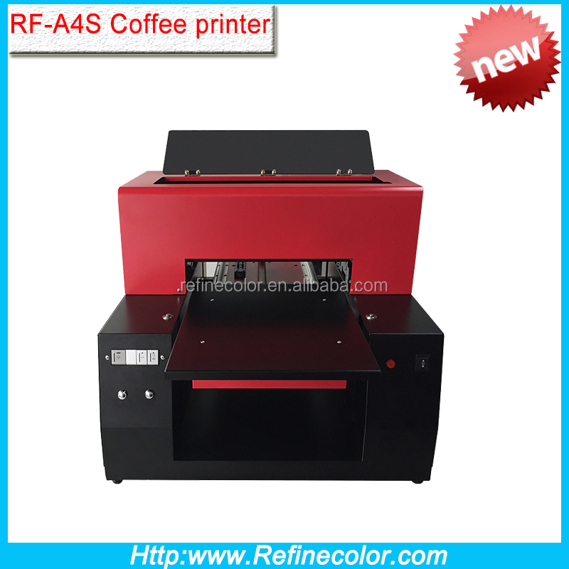 Inkjet A4 size m&m candy printing machine coffee printer for sale