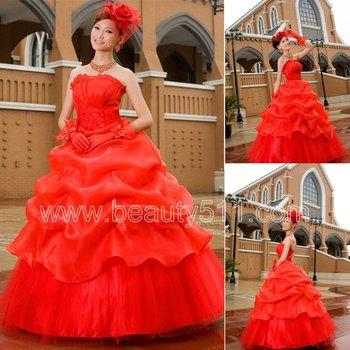 Nouveau Style Rouge Princesse Robe De Bal Robes De Mariee Gp049 Buy Robes De Mariee Rouges Robes De Mariee Robe De Bal Robes De Mariee Princesse