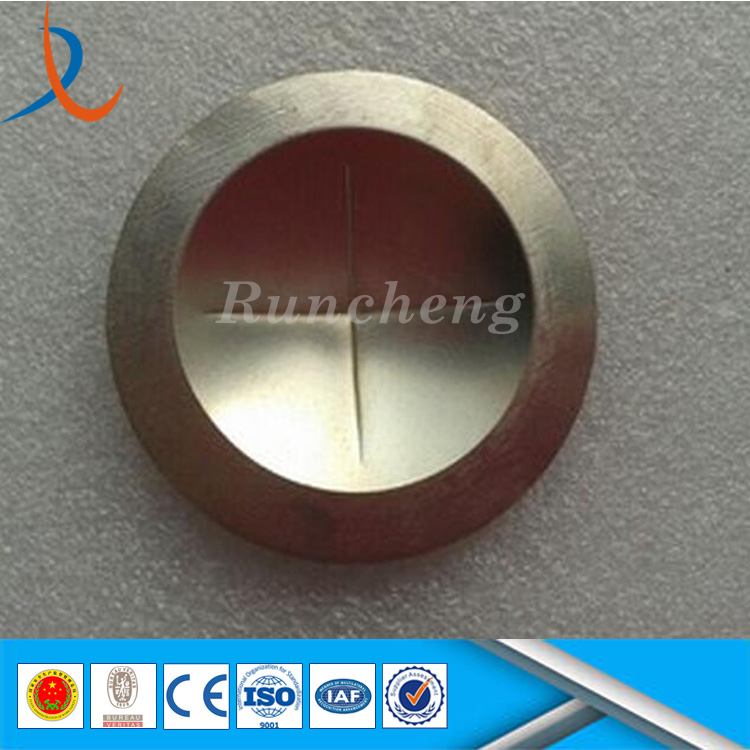 High pressure rupture disc / model barges / rupture membrane