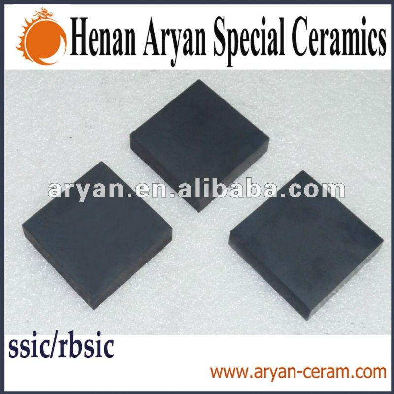 Silicon Carbide (SSIC/RBSIC)Refractory Plate for furnance