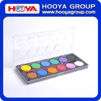 12 Renk Dia3cm Kuru Ağaç Boyama Suluboya Boya Buy Product On