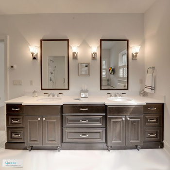 L Shaped Hotel Bathroom Vanity With Double Sink Buy L Shaped
