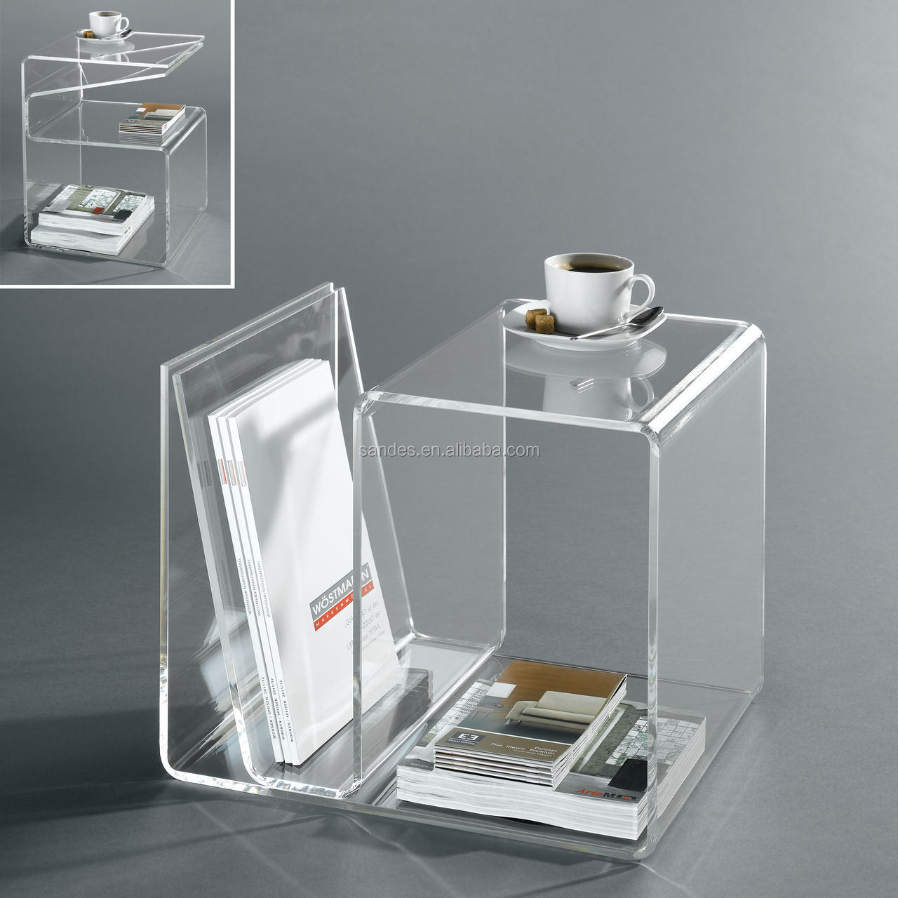 Clear Plastic Side Tables, Clear Plastic Side Tables Suppliers And  Manufacturers At Alibaba.com