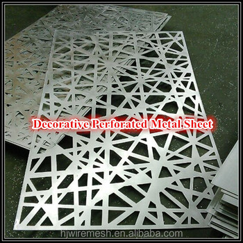 304 Stainless Steel Perforated Metal Plate For Laser Cutting