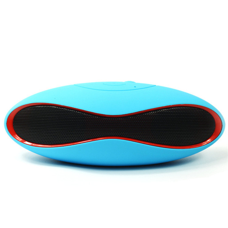 Mini X6 Draagbare Draadloze Bluetooth Speakers Hifi Audio Muziekspeler Subwoofer Rugby Ball Speaker voor Telefoon Auto