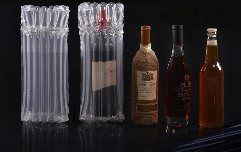 אוויר שקית עמודת אריזה 750ml יין בקבוק
