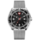 High quality 200M or 300M water resist diver automatic watch with date oem small orders acceptable U2720-06