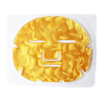 Custom Private Label Beauty Face Whitening Moisturizing Collagen Crystal 24K Gold Active Powder Facial Mask For Spa