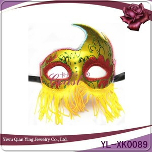 Different types of female masquerade party face masks