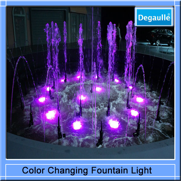 De alta calidad de agua Jet luz flotante piscina LED luces ...