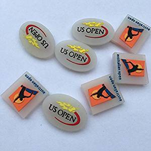 US open/Aus open tennis racket vibration dampeners Shock Vibration Dampener Absorber(pack of 10)