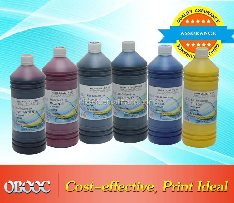 2016 Factory Direct Sale DX5 DX7 Galaxy Eco Solvent Ink for Estate Advertising Printing