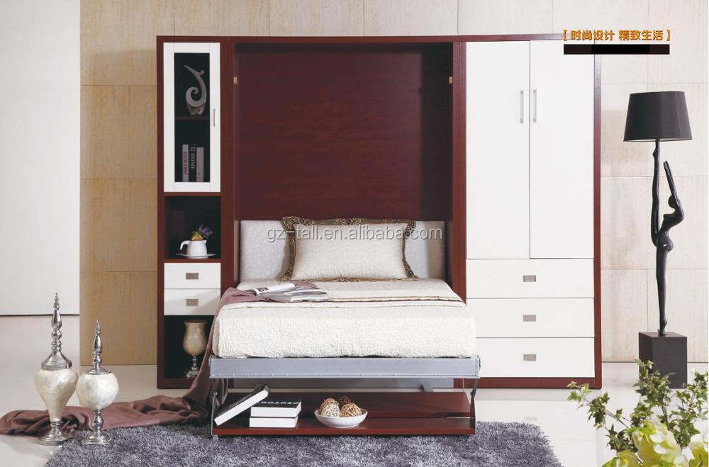 Großhandel Königin Größe Wand Bett Benutzerdefinierte Platzsparende ...