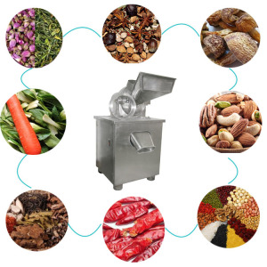 Tea powder making machine stainless steel tea leaf grinding milling crushing machine