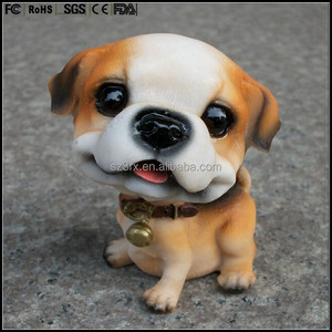 custom made dog bobble head figure model manufacturer,animal shaped bobble head figures,custom bobblehead figures