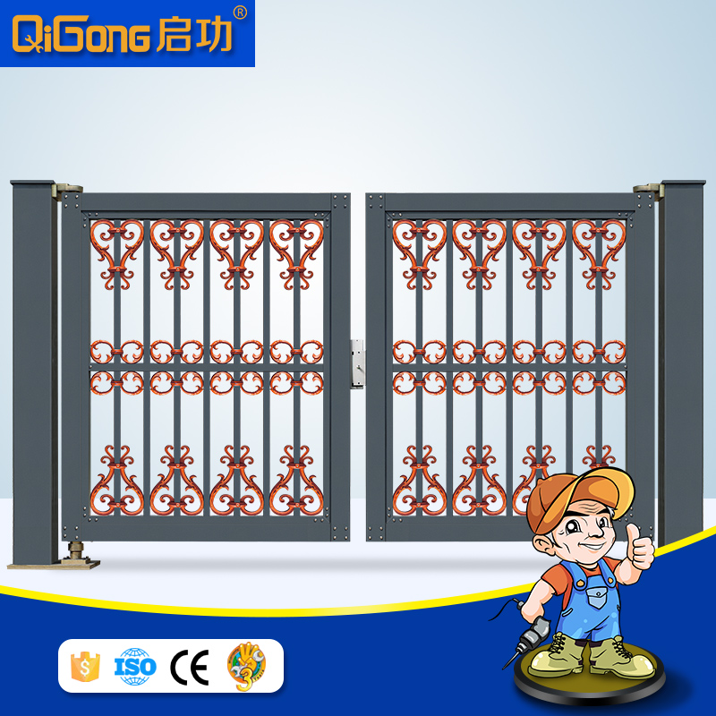Auto Swing gate of electric door for house desings QG-L968c