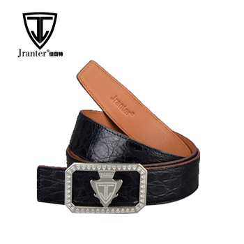 Custom Crocodile Leather Belts With High Quality, High-Grade Luxury Real Leather Belt