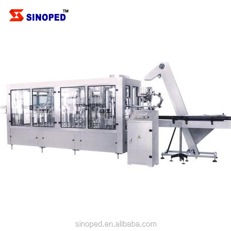 3-in-1 PET bottle beverage drinking juice filling production machine equipment