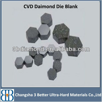 Long Service Life Cvd Diamond Wire Drawing Die Blanks