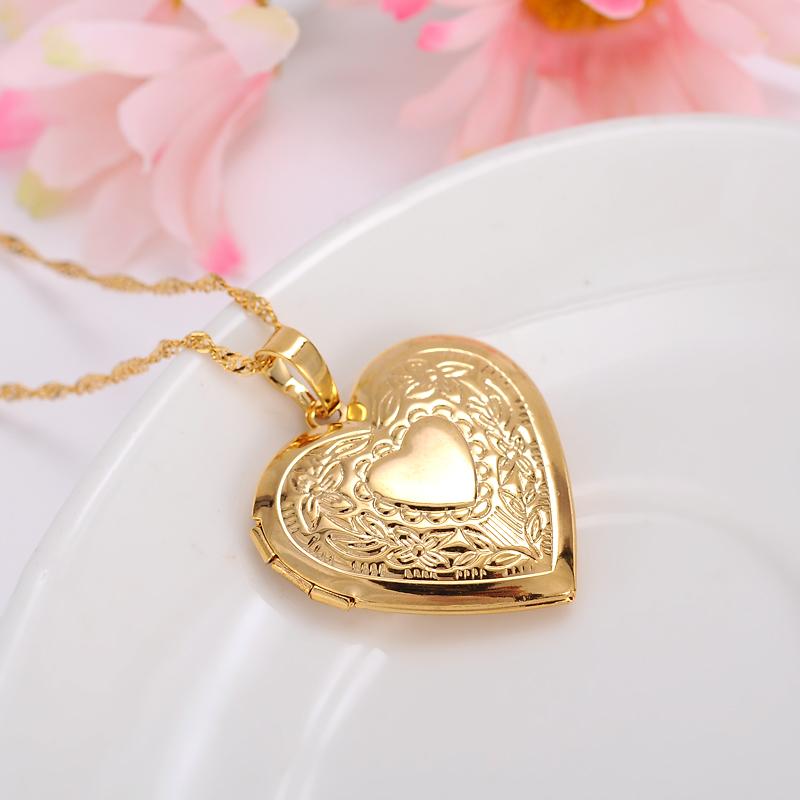 New Design Muslim Heart Pendant Simple Gold Pendant - Buy New ...