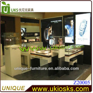 High-end MDFcustomized watch display stand ,watch display cabinet design,jewerly display showcase