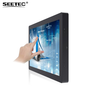 "21"" Flexible Pos System Ad Display Kit Multi Usb Capacitive Touch Screen Panel"