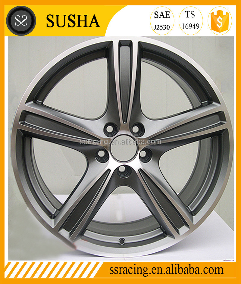 "China 2017 High Quality 17""18""19""20"" Gun metal/Sliver/Black replica alloy wheels for XC90"