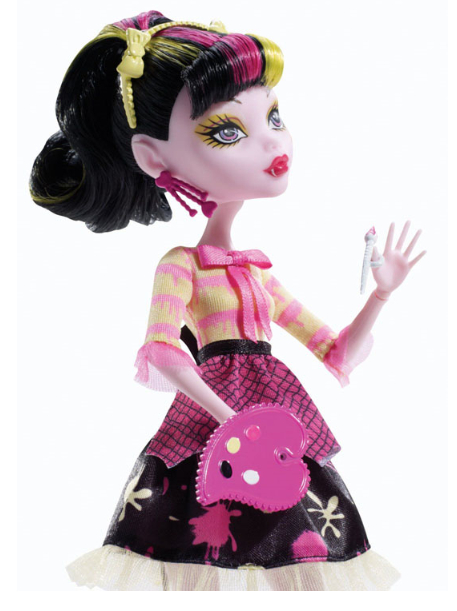 Classic Monster toys art class Original <strong>Doll</strong>, Draculaura, high quality Toy to Girl