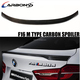 X6 F16 M Style Carbon Fiber Trunk Spoiler For BMW 2014+