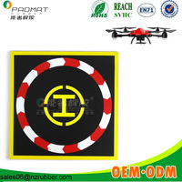 custom flying ball helicopter drone landing pad factory