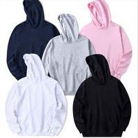 Cheap fashionable custom anti-pilling plain cotton french terry 3/4 zipper front wholesale lightweight hoodie