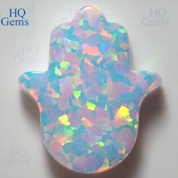 Lab Created Opal Fake Oval Synthetic Jewelry