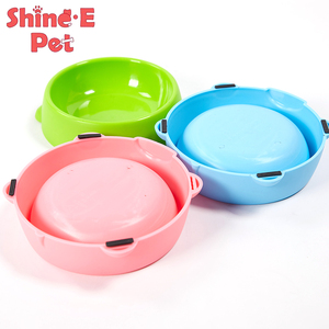 Wholesale plastic OEM service durable pet dog bowl free samples