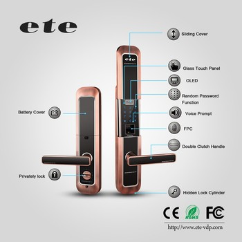 Mobile Control Waterproof Biometric Fingerprint Scanner Smart Sliding  Digital Door Lock - Buy Sliding Door Lock,Fingerprint Sliding Door  Lock,Smart