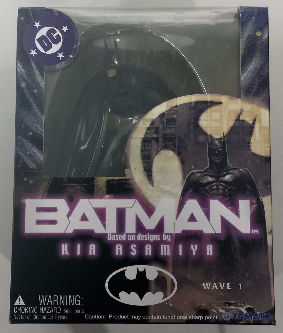 Batman Kia Asamiya Action Figure Batman