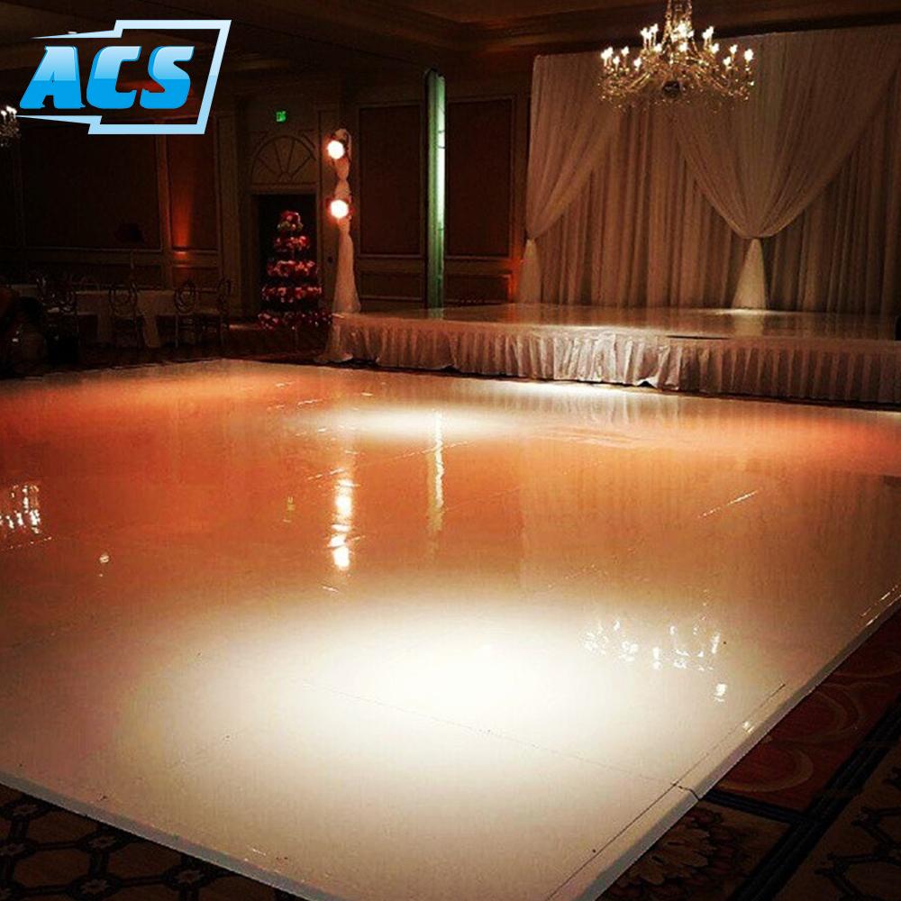 Custom seamless white wedding dance floor for sale