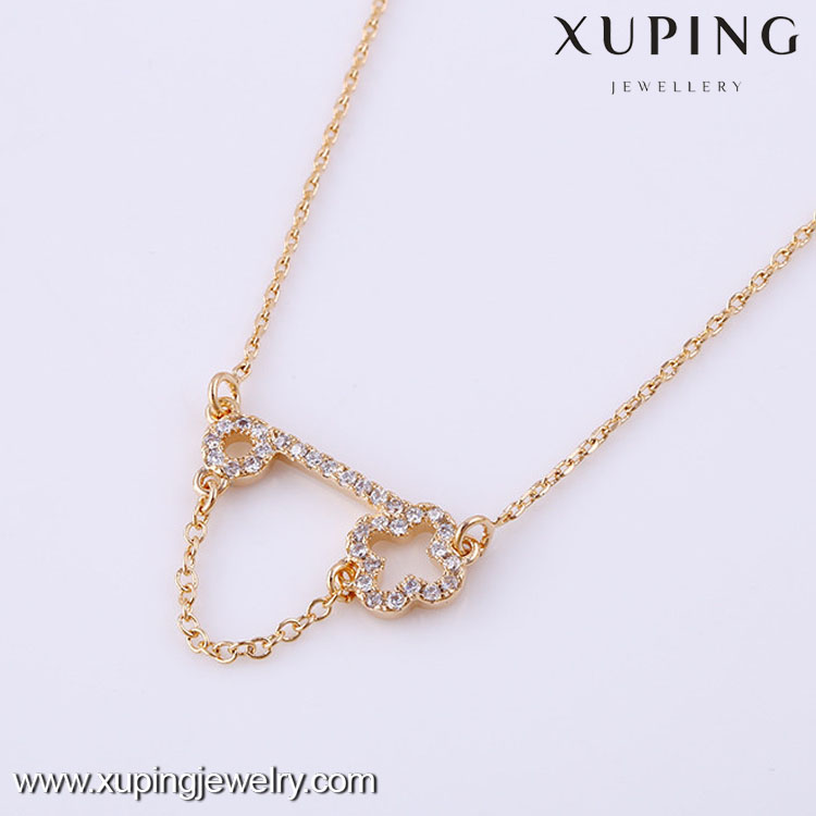 stud with rope pendant ip en crown gold number chain stone tone necklace tilded